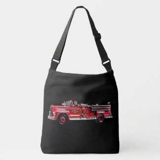 Antique Fire Engine Tote Bag