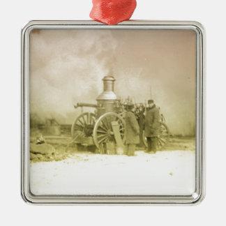 Antique Fire Men Christmas Ornament
