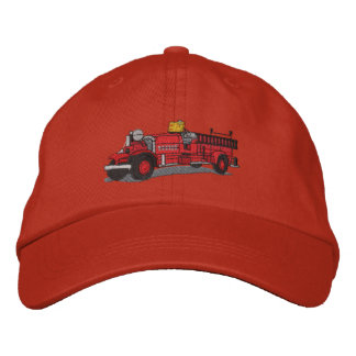 Antique Fire Truck Baseball Cap