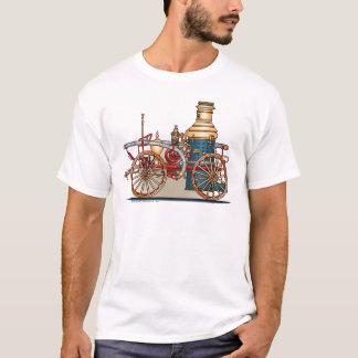 Antique Fire Truck Steam Pumper Mens T-Shirt
