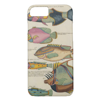 Antique Fish Illustration iPhone 8/7 Case