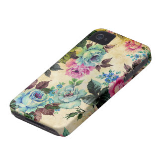 Antique Floral Case-Mate iPhone 4
