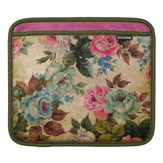 Antique Floral iPad Sleeve