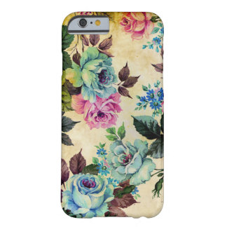 Antique Floral iPhone 6 case Barely There iPhone 6 Case