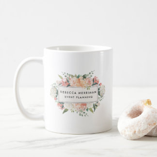 Antique Floral Logo Coffee Mug