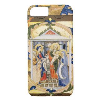 ANTIQUE FLORAL NATIVITY CHRISTMAS PARCHMENT iPhone 7 CASE