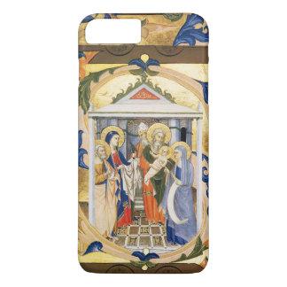 ANTIQUE FLORAL NATIVITY CHRISTMAS PARCHMENT iPhone 7 PLUS CASE