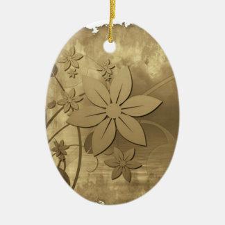 Antique Floral Paper Ornaments