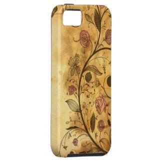 Antique Floral Pattern Tough iPhone 5 Case