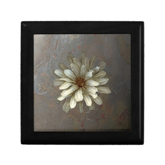Antique Flower Small Square Gift Box
