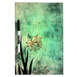 Antique flowers Art Dry-Erase Boards