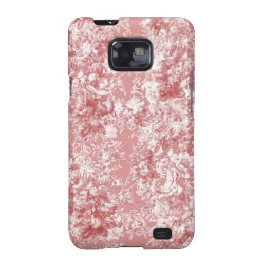 Antique Flowers Samsung Galaxy SII Cover