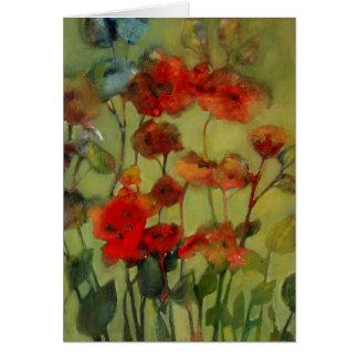Antique Flowers II • Michelle Abrams - card