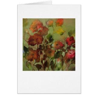 Antique Flowers • Michelle Abrams - card