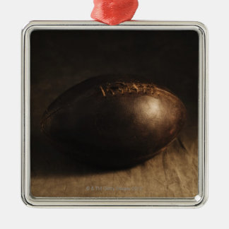 Antique football christmas ornament