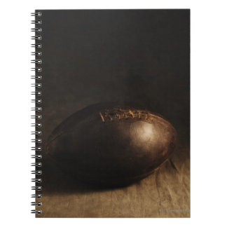 Antique football notebook