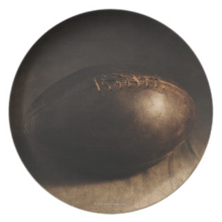 Antique football plate
