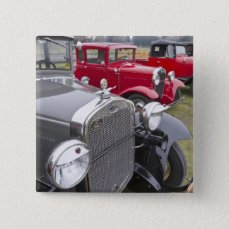 Antique Ford automobiles 15 Cm Square Badge