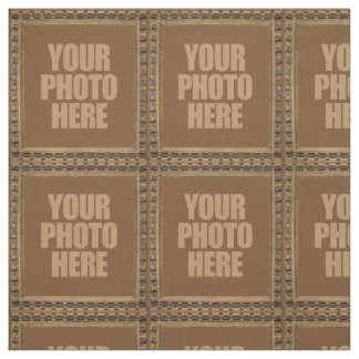 Antique Frame with YOUR PHOTO custom fabric