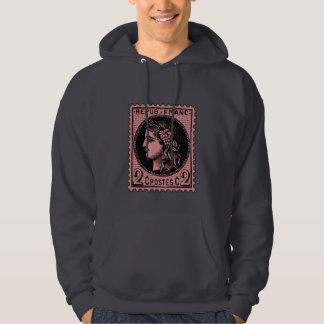 Antique French Stamp on Tshirts, Mugs, Hoodies