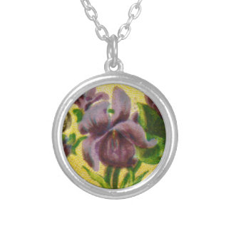Antique French Violet Necklace