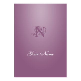 Antique fuchsia Elegant Style Pack Of Chubby Business Cards