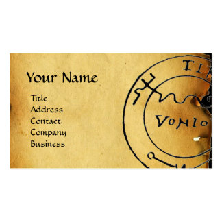 ANTIQUE GALLEON AND PIRATE TREASURE MAPS BUSINESS CARD