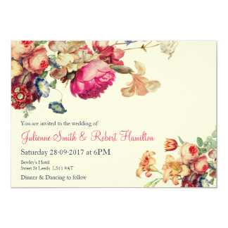 Antique Garden | Vintage Wedding Invitations