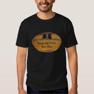 Antique Gay Wedding Custom T-Shirts