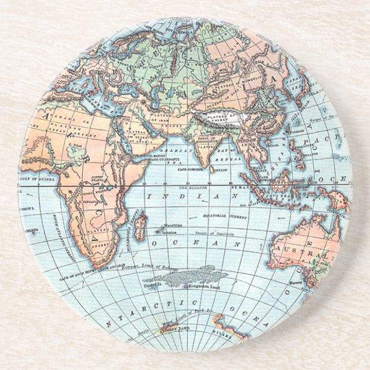 Antique Globe coasters
