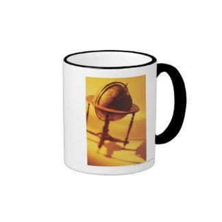 Antique globe ringer mug