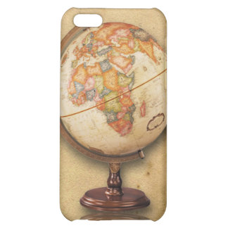 Antique Globe on Parchment look iPhone4 Cover iPhone 5C Cases