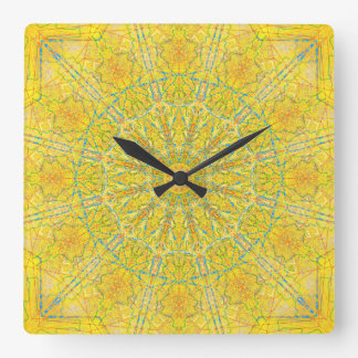 Antique Gold Mandala Clock