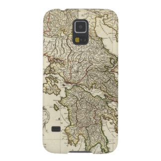 Antique Greek Map Galaxy S5 Covers