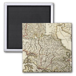 Antique Greek Map Magnet