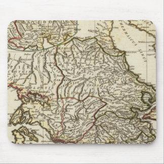 Antique Greek Map Mouse Mat