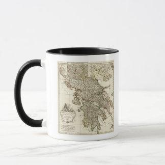 Antique Greek Map Mug