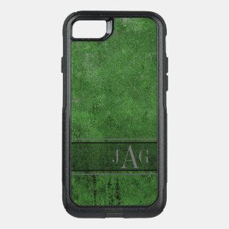Antique Green Textured Design OtterBox Commuter iPhone 8/7 Case