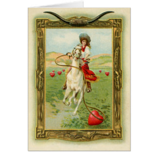Antique Hearts 1 Card