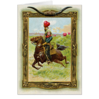 Antique Hearts 4 Card