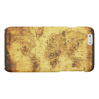 Antique Historic Old World Map iPhone 6 Plus Case