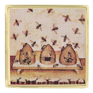 ANTIQUE  HONEY BEE , BEEKEEPER PIN