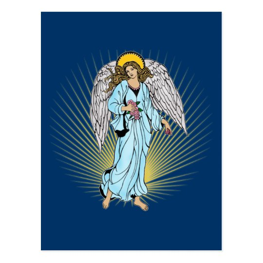 Antique Illustration of an Angel on Tshirts, Gifts Postcard