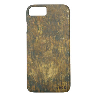 Antique Inspired Grungy Wooden Stained Distressed iPhone 8/7 Case