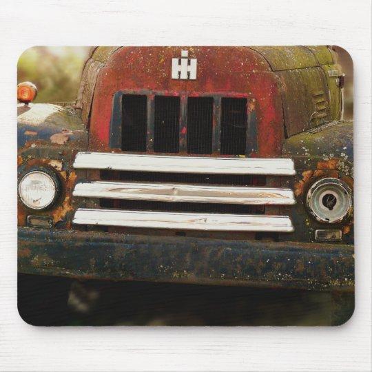 Antique International Harvester Truck Mouse Mat