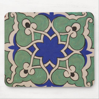 Antique Islamic Tile Design Mouse Pad