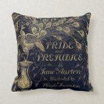 Antique Jane Austen Pride and Prejudice Peacock