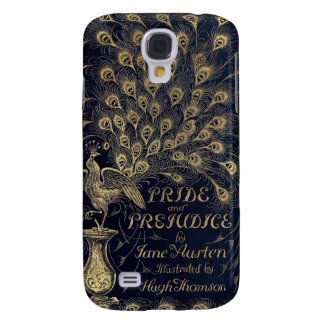 Antique Jane Austen Pride and Prejudice Peacock Galaxy S4 Case