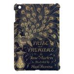 Antique Jane Austen Pride and Prejudice Peacock iPad Mini Cover