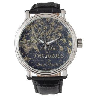 Antique Jane Austen Pride and Prejudice Peacock Watch